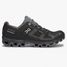 ON Running Cloudventure Waterproof Black/Graphit pánská - 22.99951