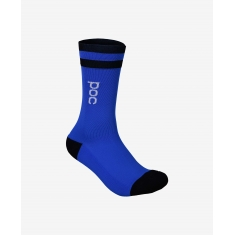 POC Essential Mid Length Sock - Azurite Multi Blue - 2020
