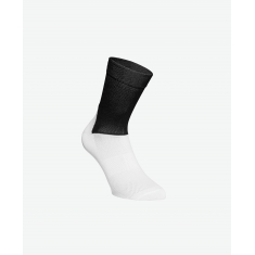POC Essential Road Sock - Uranium Black/Hydrogen White - 2020