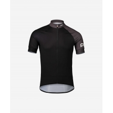 POC Essential Road Jersey - Uranium Black/Sylvanite Grey - 2020