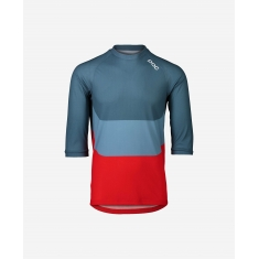 POC MTB Pure 3/4 Jersey - Calcite Multi Blue - 2020