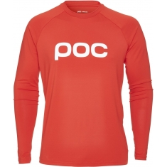 POC Essential Enduro Jersey - Prismane Red - 2020