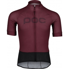 POC W's Essential Road Logo jersey - Propylene Red/Dk Propylene Red