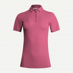 Kjus Women Eve Polo S/S - rose pink - 2021