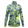 Mikina CRAZY PULL DIXY WOMAN - YELLOW FLUO-EVERBLOOM