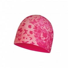Buff MICRO & POLAR HAT CHILD BUTTERFLY PINK