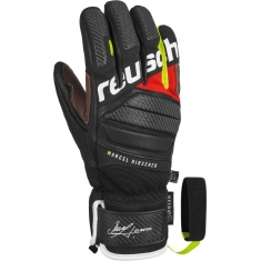 Reusch Marcel Hirscher - black/fire red - 2018