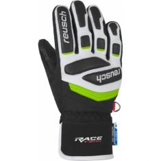 Reusch Prime Race R-TEX XT Junior - black/white/neon green
