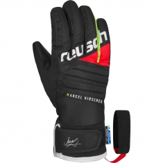 Reusch Marcel Hirscher Junior R-TEX XT - black/fire red