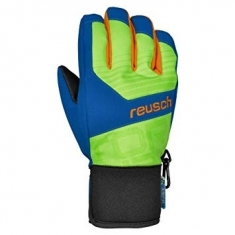 Reusch Torbenius R-TEX XT Junior - neon green/imperial blue