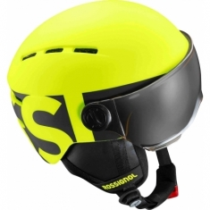 Rossignol Visor Jr - neon yellow/black - helma - 2018/19
