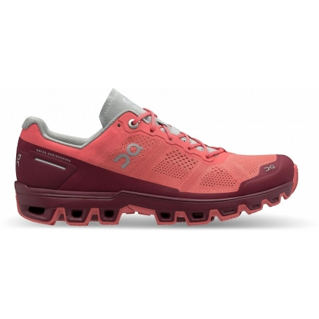 ON Running Cloudventure Coral/Mulberry dámská - 22.99952