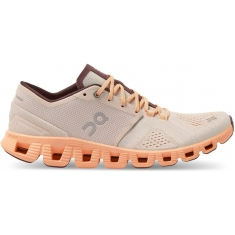 ON Running Cloud X Silver/Almond dámské - 40.99699