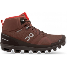 ON Running Cloudrock Waterproof Cocoa/Red pánská - 23.99855