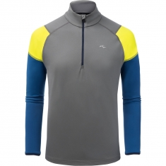 Kjus Men Race Half-Zip - steel grey-s.blue - 2020