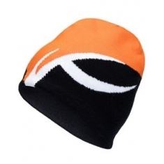 Kjus Unisex Uprising Beanie - black-KJUS orange - 2020