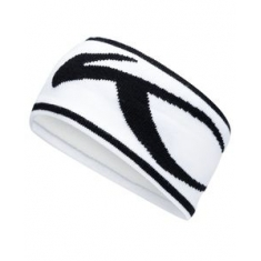 Unisex KJUS Headband - white-black - 2020