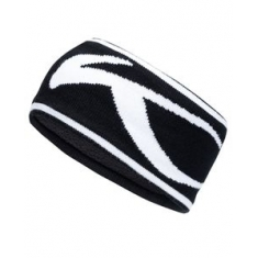 Unisex KJUS Headband - black-white - 2020