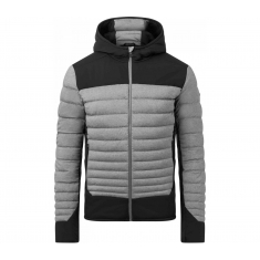 Kjus Blackcomb Stretch Hooded Jkt - steel gry mel-blk - 2020