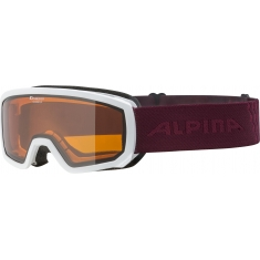 Brýle Alpina Scarabeo JR DH white-cassis - A7258
