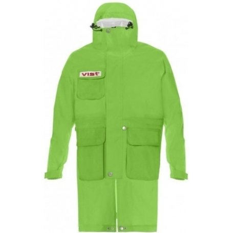 Lyžařská pláštěnka VIST RAIN COAT ADJUSTABLE Junior green