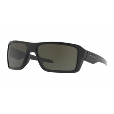 Brýle Oakley Double Edge - Matte Black/dark gray