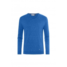 Kjus Men Kirk V-Neck Pullover - strong blue mel - 2020
