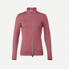 Kjus Women Nina Midlayer Jacket - rose wine - 2020