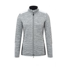 Kjus Women Radun Midlayer Jacket - white mel.-white - 2021