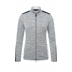 Kjus Women Radun Midlayer Jacket - whit mel.atl blue - 2021