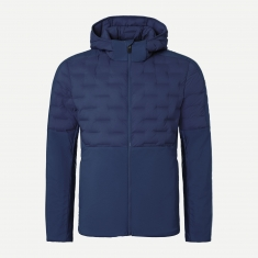 Kjus Men Blackcomb Hood Insul Jacket - atlanta blue - 2021