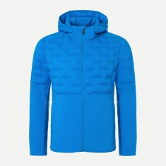 Kjus Men Blackcomb Hood Insul Jacket - aruba blue - 2021