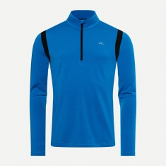 Kjus Men Motion Midlayer Half-Zip - aruba blue- black - 2021