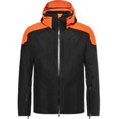 Kjus Men Freelite Jacket - black-Kjus orange - 2021